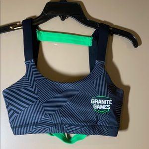 Born primitive granite games small sports bra